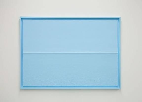 Tom Friedman, Blue Styrafoam Seascape, 2014