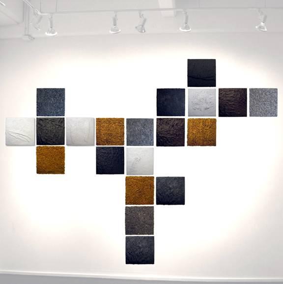 work shown at BOS by Bushwick artist Christopher Stout