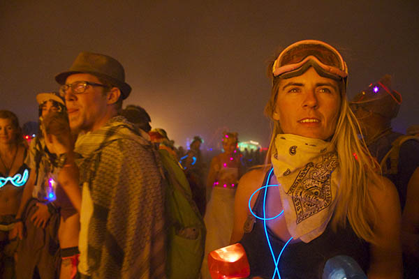 Image from Burning Man festival courtesy of the artists