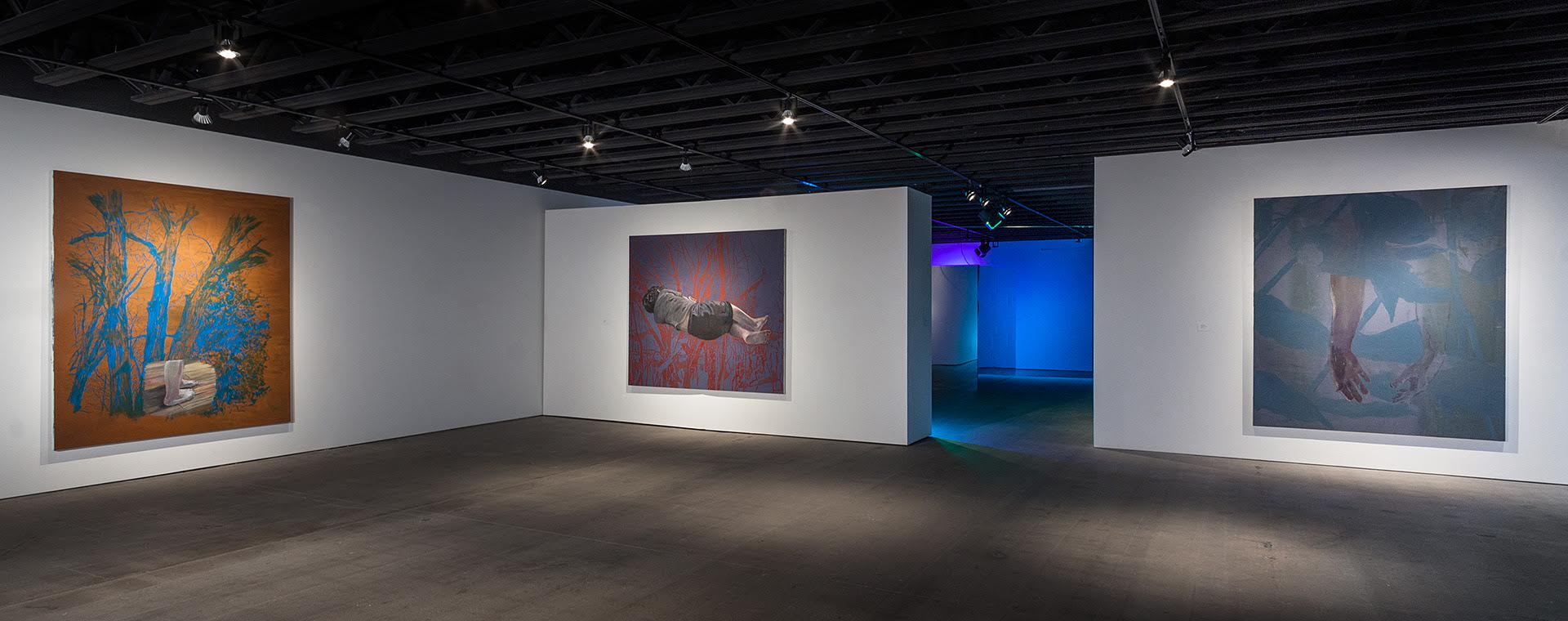 Installation shot of Misha Kligman's work Photo by EG Shempf Image Courtesy of H&R Block Artspace