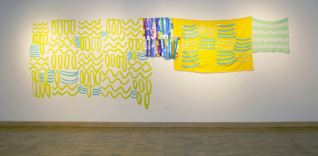 Victoria Martinez Highlights the Energy of Urban Sites Through Pattern, Color, and Site-Specificity