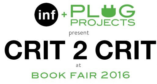 CRIT 2 CRIT at PLUG Projects Book Fair