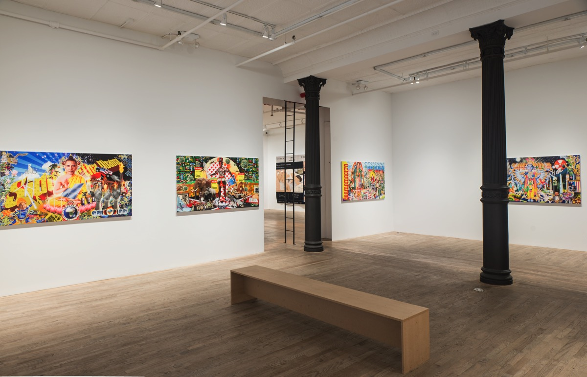 Uncanny Chaos Under Control at Postmasters Gallery