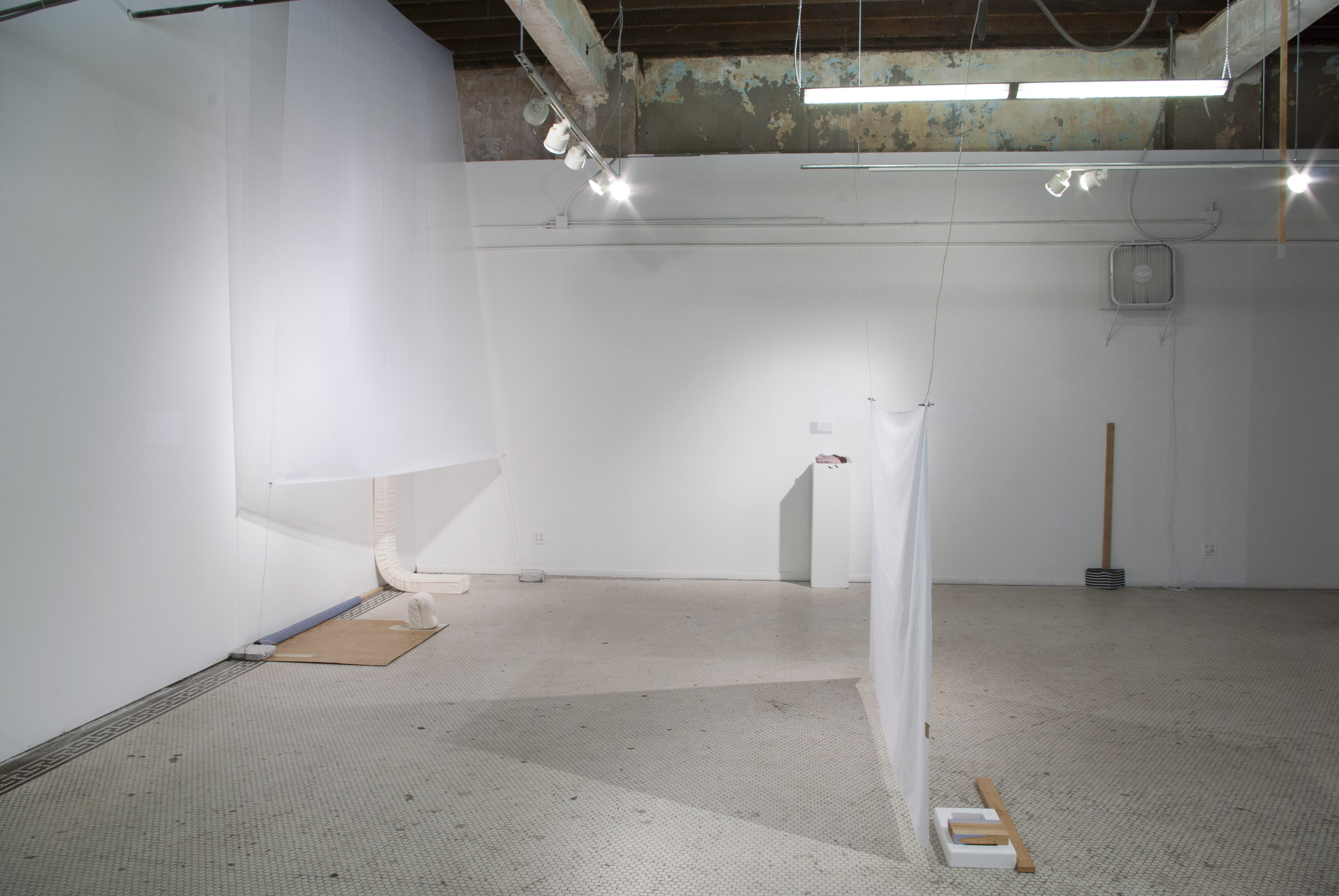 Minimalisms' Spurious Distractions in a Collaborative Installation